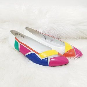 Nicole Rene | 80's Style Color Dress Shoes 8.5